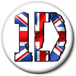 Значок ONE DIRECTION 1dz1