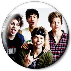 Значок 5 Seconds of Summer 5sos14