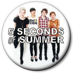 Значок 5 Seconds of Summer 5sos18