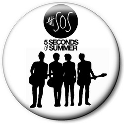 Значок 5 Seconds of Summer 5sos39