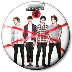 Значок 5 Seconds of Summer 5sos4