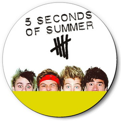 Значок 5 Seconds of Summer 5sos46