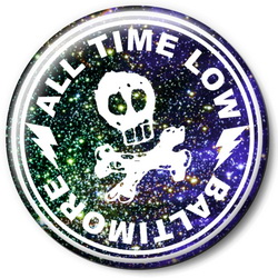 Значок All Time Low allt6