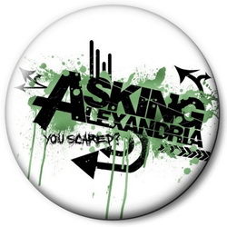Значок Asking Alexandria askin1