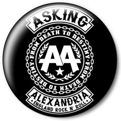 Значок Asking Alexandria askin7
