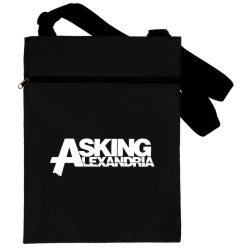 Сумка черная Asking Alexandria blacks-118