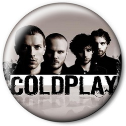 Значок Coldplay cold9