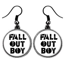 Серьги Fall Out Boy earr14