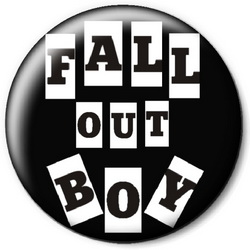 Значок Fall Out Boy fobz8