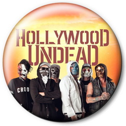 Значок Hollywood Undead holu9