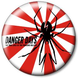 "Значок MY CHEMICAL ROMANCE ""Danger Days"" mcrd5"