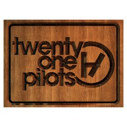 Форма для печения Twenty One Pilots cookie1