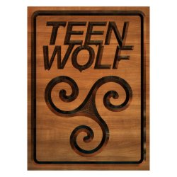 Форма для печения Teen Wolf cookie2