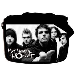 "Сумка ""MY CHEMICAL ROMANCE"" school-656"