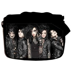 "Сумка ""Black Veil Brides"" school-716"