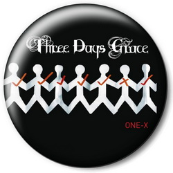 Значок Three Days Grace tdg12