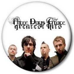 Значок Three Days Grace tdg2