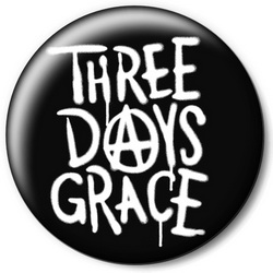 Значок Three Days Grace tdg3