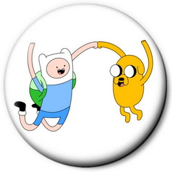 Значок Adventure Time time11