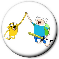 Значок Adventure Time time16