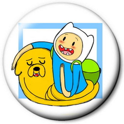 Значок Adventure Time time18