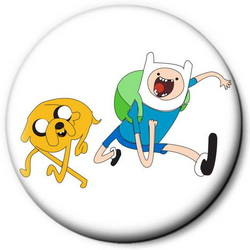 Значок Adventure Time time8