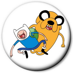 Значок Adventure Time time9