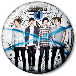 Значок 5 Seconds of Summer 5sos11