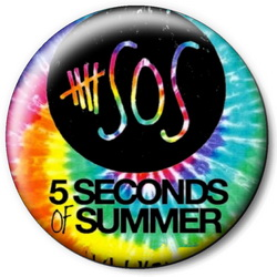 Значок 5 Seconds of Summer 5sos25