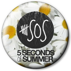 Значок 5 Seconds of Summer 5sos36