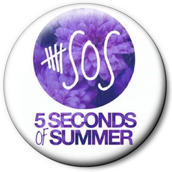 Значок 5 Seconds of Summer 5sos5