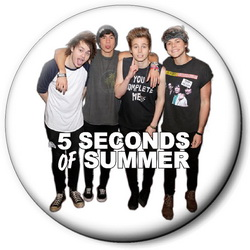 Значок 5 Seconds of Summer 5sos6