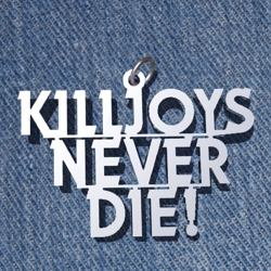 Подвеска кулон MCR Killjoys Never Die  k-214