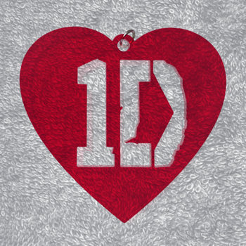 "Подвеска кулон ""1D, ONE DIRECTION"" acr-1"