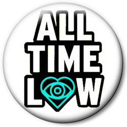 Значок All Time Low allt3