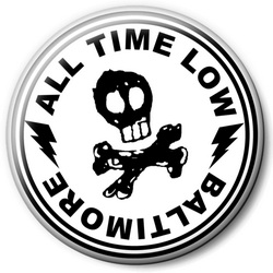 Значок All Time Low allt7