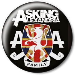 Значок Asking Alexandria askin4