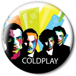 Значок Coldplay cold11