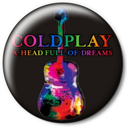Значок Coldplay cold6