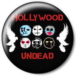 Значок Hollywood Undead holu10