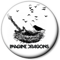 Значок Imagine Dragons idr18