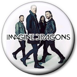 Значок Imagine Dragons idr26