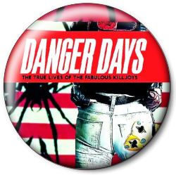 "Значок MY CHEMICAL ROMANCE ""Danger Days"" mcrd1"