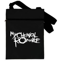 Сумка черная MY CHEMICAL ROMANCE blacks-120