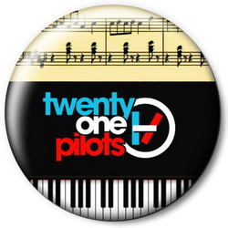 Значок Twenty One Pilots top44