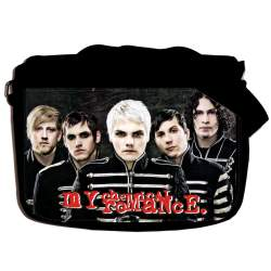 "Сумка ""MY CHEMICAL ROMANCE"" school-654"
