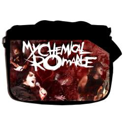 "Сумка ""MY CHEMICAL ROMANCE"" school-655"