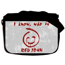 "Сумка ""I know, who is RED JOHN"" school-697"