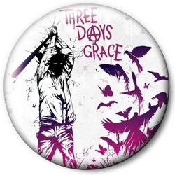 Значок Three Days Grace tdg1