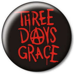 Значок Three Days Grace tdg13